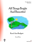 All Things Bright And Beautiful - By Karol Ann Badgett: Piano Duet Elementary Sheet Music