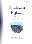 Bluebonnet Highway Optional parts - By Cheryl Amelang: Piano Duet Late Elementary Sheet Music