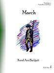 March - By Karol Ann Badgett: Violin Duet with Piano Elementary Sheet Music
