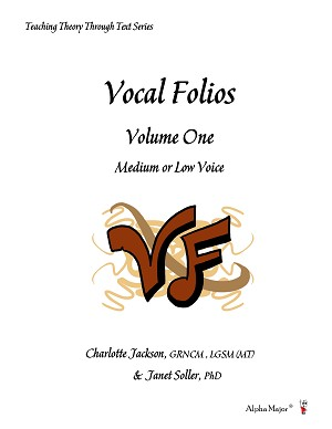 Vocal Folios Volume One Medium or Low Voice - By Charlotte Jackson and Janet Soller: Vocal Sheet Music
